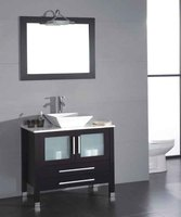 China Supplier Solid Wood Bathroom Space Saver Cabinet