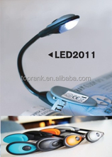 TOPRANK SGS inspection accepted eco friendly material book reading light