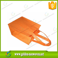 Environmental non woven promotional shopping bag/pp nonwoven grocery bag/80-130g polypropylene non-woven bag