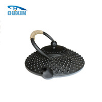 Chinese Antique Unbreakable Cast Iron Wholesale Teapots With Strainer, 0.9L