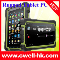 CE approved Hugerock T70H Quad Core Rugged Tablet PC 7 Inch IPS Touch Screen 3G Bluetooth GPS Android 4.2 OS