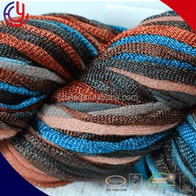 1/4nm 100% acrylic hollow tube yarn with knot