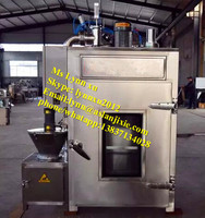 chicken meat smokehouse /small fish smoking oven