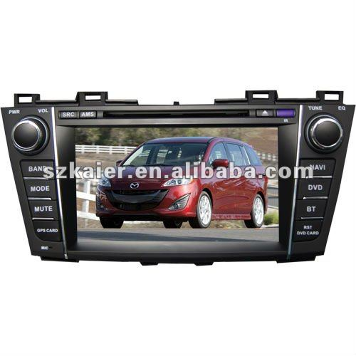 "8"" 2-Din Car media system and GPS navigation for Mazda 5 with 8CD virtual,USB,SD,FM,TV and Arabic"