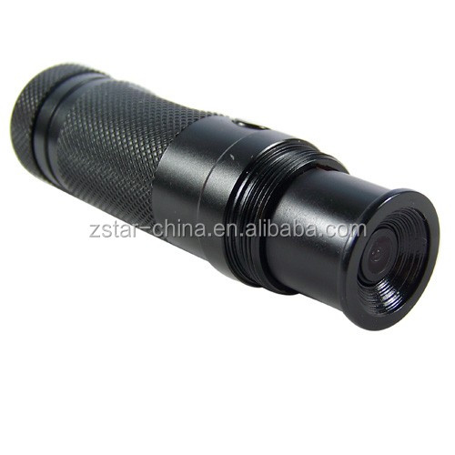 720P 120 degree hands-free water-resistant bullet helmet camera gun camera