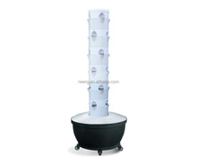 6x6 Hydroponic Vertical Grow Plant Tower Garden Soil-less Planting System