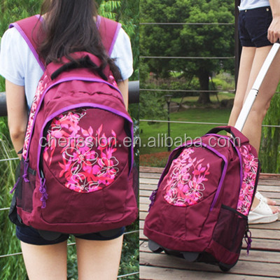 2016 Ladies Fashion Travelling Bags With Trolley