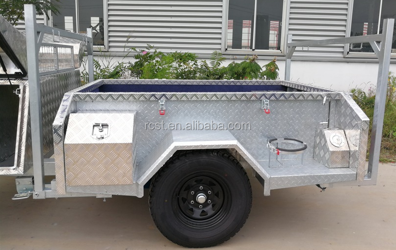 2017 hot dipped galvanized camper trailer RC-CPT-07SD