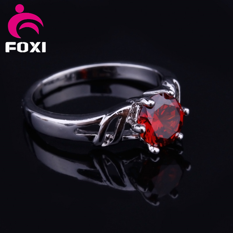 Hot Sale Products Plating 18k gold and platinum with setting AAACZ gemstone fashion jewelry rings