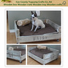 Shabby chic Eco-Friendly Feature and Wooden Pet Beds, cheap wooden dog cages,large wooden dog crate