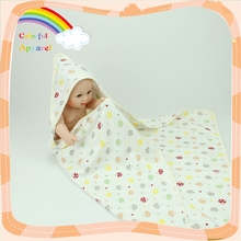 Soft touch infancy clothes cotton terry baby blanket