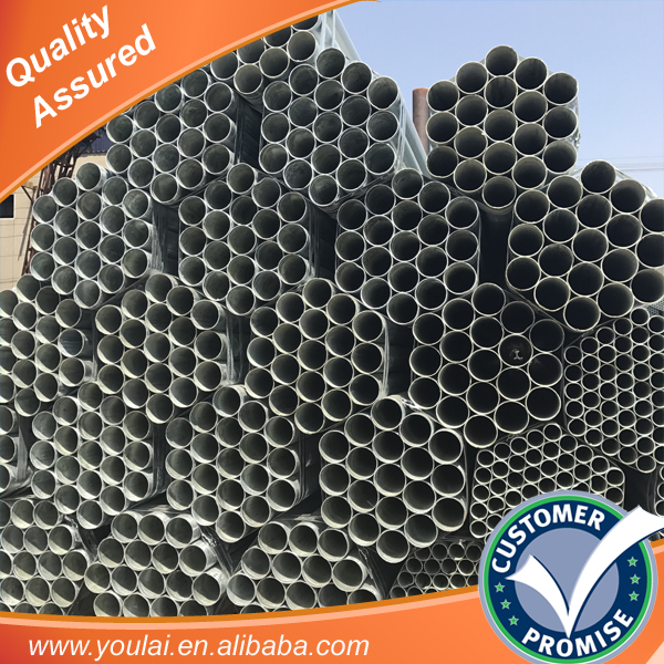 Hot dipped galvanized steel pipe square and rectangular steel tube China suppliers