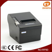mini 80mm thermal printer RP80 with auto cutter for restaurant and supermarket RP80