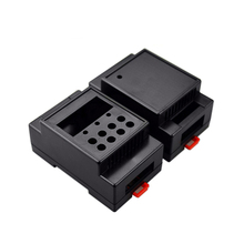 Din rail control enclosure temperature control sensor enclosure for electronic equipment