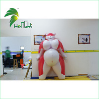 Promotional inflatable sexy lady girl model with big belly