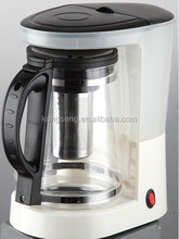 New design electric 1.25L Coffee Maker and Tea 2 in 1