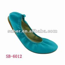 SaberYX-6012 Roll up Girls Flats Shoes Ballerina