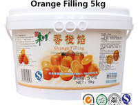 Master Chu Orange Filling Jam for bakery application 5kg