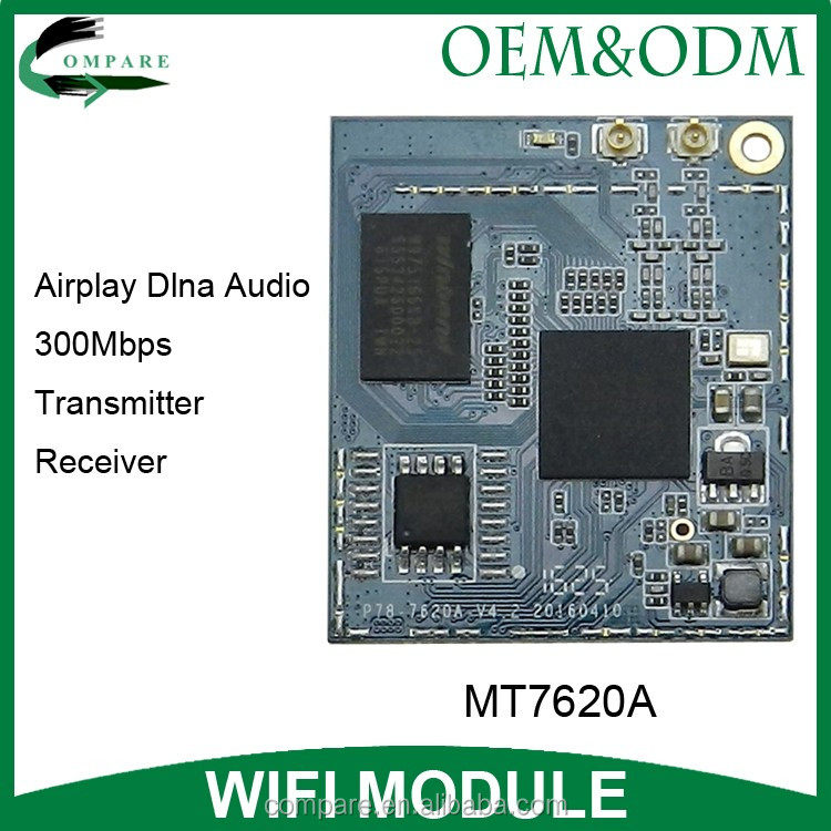 2T2R 300Mbps wireless repeater iot mt7620a openwrt wifi controller module