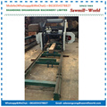 MJ700D Diesel Engine Portable Horizontal Log Band Saw Mill
