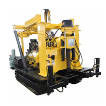 portable hydraulic trailer mounted drilling rig 300m 500m 600m deep water well drilling machine for sale
