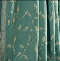 2015 cheap sheer embroidery arabic curtain fabric
