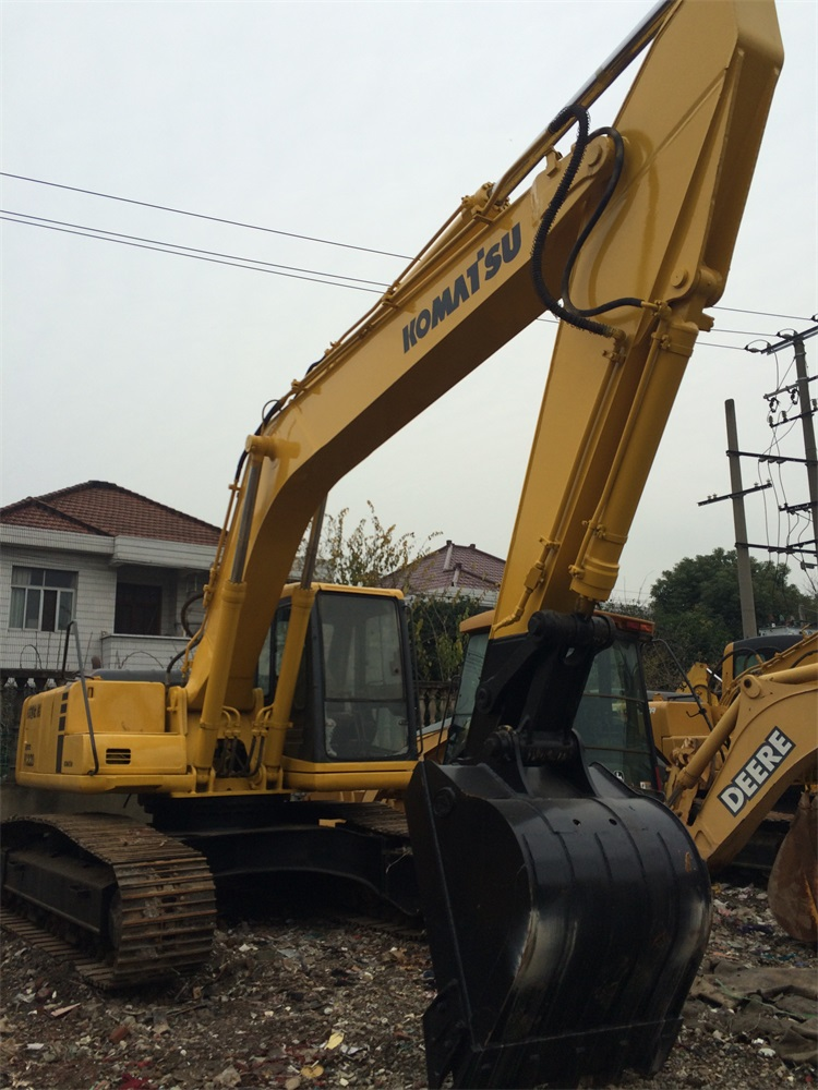 Japan Used Construction Machine 20 Ton , PC220 Crawler Excavator Used