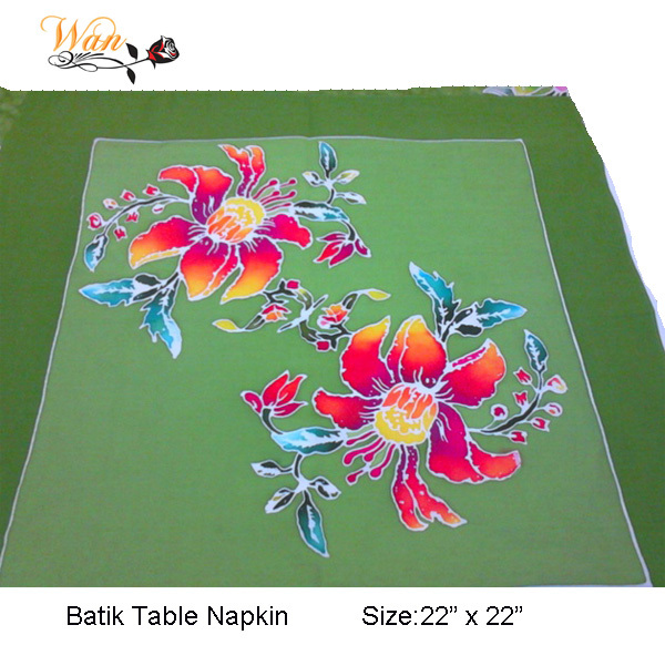 Batik Table Napkins Hand Painted