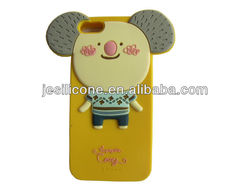 Wholesale cstomize lovely silicone cell phone cover for iphone 5