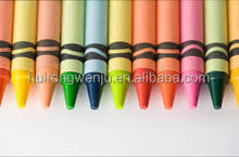 Non - toxic and environmentally friendly high quality crayon with different colors