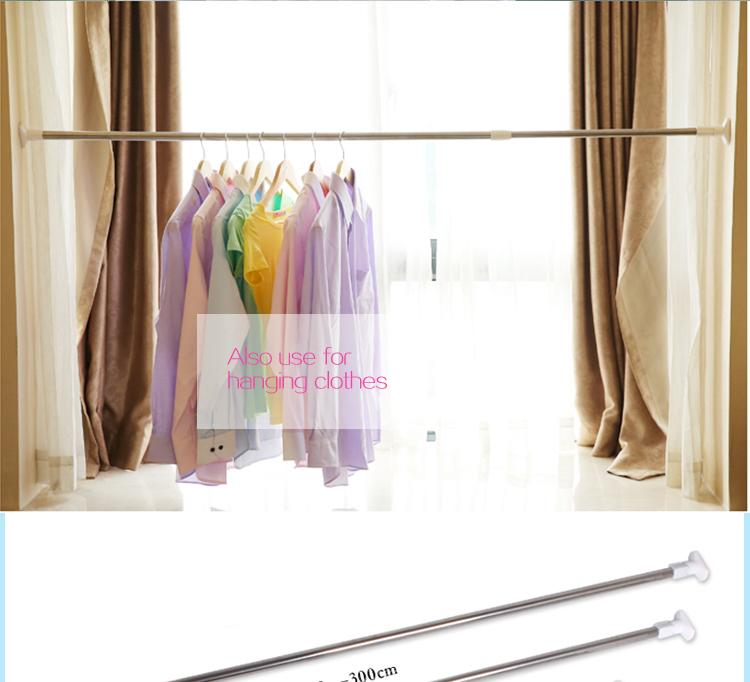 Install shower curtain rod