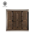 French Antique Solid Wooden Bathroom Cabinet HL786