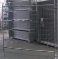 Colour 10ft long Canada Temporary Fence Panel
