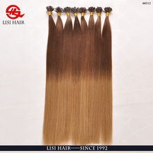 Most Hottest High Grade 100 cheap remy u tip hair extension wholesale