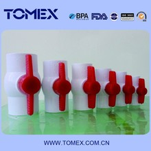 Chinese Plastic Products Supplier/CPVC PVC Ball VALVE/Thread or Socket end