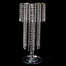 Wedding decoration flower stand , crystal centerpieces for wedding table