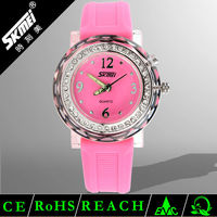 2014 Premier Water Resistant Quartz Wrist Rubber Silicone Watch Promotional Low Price