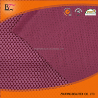 Polyester warp knitted mattress cushion core material with sandwich 3 d mesh cloth