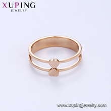 15123-2 Xuping ancient stylish women jewelry gemstone inset finger ring fashion ring