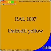 Ral 1007 EP/PE Powder Coating Paint