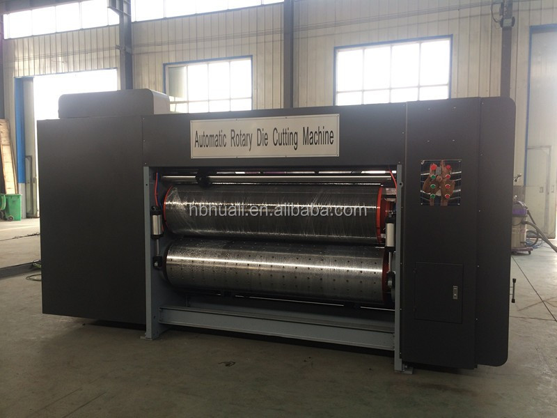 Dongguang Huali carton box making machinery /corrugated cardboard rotary die cutting / cutter machine price