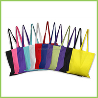 Standard size cotton tote personalized bags