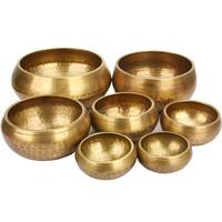 HENGTAI Meditation Bowl Made of Seven Metals Type and Art & Collectible Use Handmade Singing Bowls