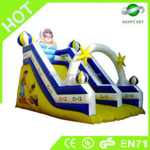 Funny and exciting inflatable spongebob slide,inflatable water slides,commercial inflatable slide