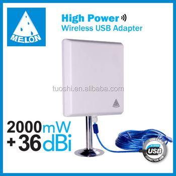 High power Ralink RT3070 chipset 150Mbps speed Wireless Usb Adapter