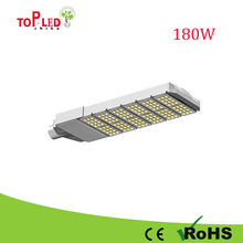 2013 new arrival 180w led street light glass cover with CE RoHS approval