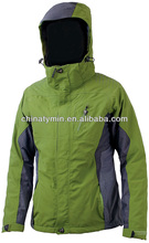 OEM women winter hoody hardshell jacket breathable waterproof Outdoor <strong>sportswear</strong>