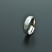 Fashion jewelry rhodium plated silver ring for wedding