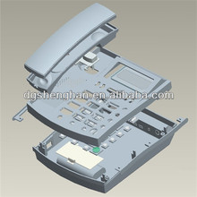 New product injection plastic mold telephone shell