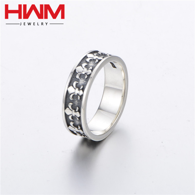 2017 most popular men's adjustable gift 925 sterling silver afghan antique vintage ring jewellery